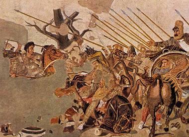 Ο Μέγας Αλέξανδρος σε ψηφιδωτό στην Πομπηία